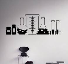 amazon com laboratory wall vinyl decal sticker chemistry