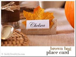 roundup 10 diy thanksgiving place card tutorials curbly