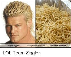 dolph ziggler hairs dolph ziggler totally lookslike com uncooked noodles lol team