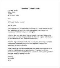 teacher cover letter opening sentence cover letter writing