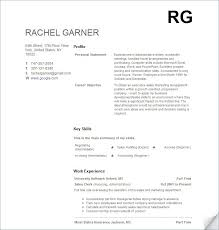 resume template with no work experience resume exles for with no experience exles of resumes