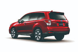 subaru forester 2016 colors the motoring world usa the 2017 subaru forester gets updated