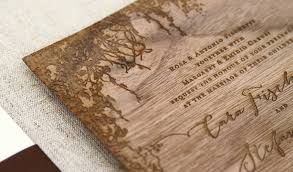 wooden wedding invitations carusi invitation custom gallery anticipate invitations