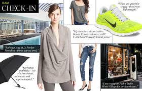 New York travel essentials images Sahar 39 s travel essentials new york fashion week jpg