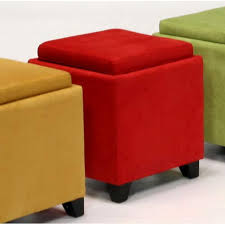 awesome storage ottoman with tray ottoman with tray and storage