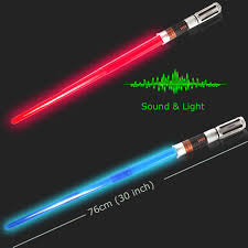lightsaber toy light up online shop flashing sword toys with sound and led light red blue