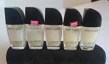 wet n wild top coat nail polish ebay