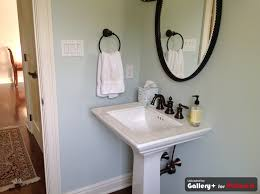 powder room sherwin williams sea salt crap we picked for the