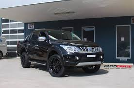 triton mitsubishi 2017 mitsubishi triton rims best load rated wheels to suit triton