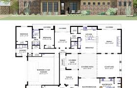 style house plans with courtyard plans courtyard design mexican style house floor modern