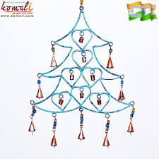 tree shape wrought iron ornaments craft wind chime wholesale