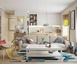 interior designing home fresh in blue and yellow nordic decor