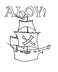 free coloring pages pirate galleon 12223 bestofcoloring