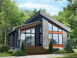 modern cabin floor plans amazing cabin 4 modern house plans the house plan shop throughout