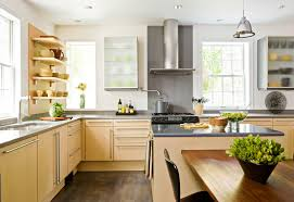 Overhead Kitchen Cabinets Storage Ideas For Kitchens Without Upper Cabinets Traditional Home
