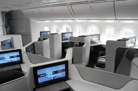 Boeing 787 Dreamliner Interior Air Canada Debuts New Cabin Interiors With Arrival Of First Boeing