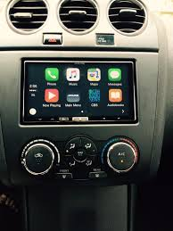 nissan altima 2015 software update carplay installs alpine ilx 700 007 in a nissan altima coupe