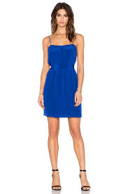 becky dress lyst rory beca becky dress in blue