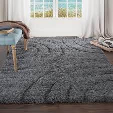 Grey Area Rug Wade Logan Danil Grey Area Rug Reviews Wayfair