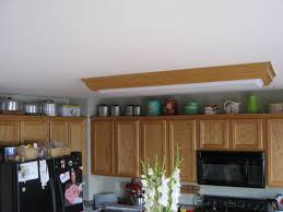modern decorating above kitchen cabinets jen joes design image of ideas decorating above kitchen cabinets decor