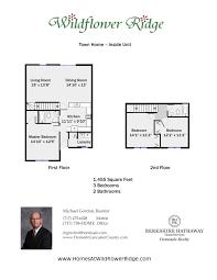Townhome Floor Plan by Floor Plans