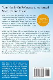 advanced sap consultants handbook essential skills for sap