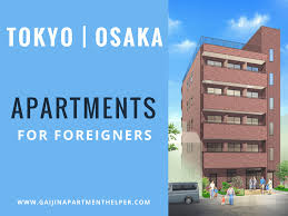 cheap apartments for rent in tokyo and osaka japan foreigner