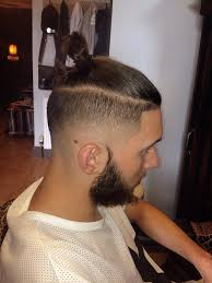 mens hair topknot ryancullenhair on twitter top knot mens hair fashion skin fade