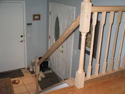 Banister Replacement Stairs Marvellous Replace Stair Railing Excellent Replace Stair