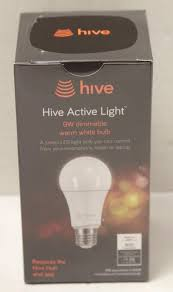 hive active light 3 pack hive active light hv gszb268 9w dimmable warm white bulb ebay