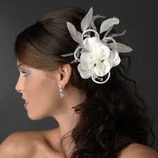 bridal hair clip swarovski ivory pearl flower bridal hair clip clip 424 ivory
