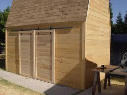 How To Build Barn Doors Sliding Make Sliding Barn Doors Using Skateboard Wheels Skateboard