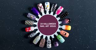 18 halloween nail art ideas the nailasaurus
