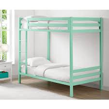 Metal Bunk Beds Twin Over Twin by Bentley Twin Over Twin Metal Bunk Bed Mint 798 40 Furniture