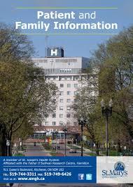 Residents Presence Saint Joseph Hospital Family Medicine St Joseph U0027s Health Centre Guelph Long Term Care A Handbook Of