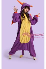 Halloween Onesie Costumes Royal Dragon Spyro Dragon Onesie Costume Kigurumi Pajamas
