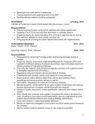 Purchasing Resume Santosh Upd Purchasing Resume
