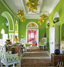 Colorful Interior 2737 Best Interiors In Green Zielony We Wnętrzach Images On