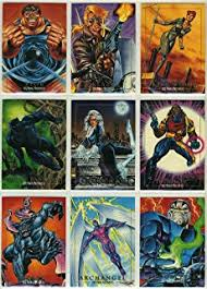 marvel masterpieces series 1 complete 100 card set