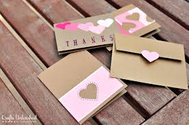 how to make thank you cards unac co