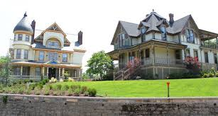 victorian houses two big victorian houses picture of eureka springs historic