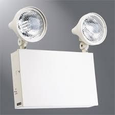 sure lites emergency lights sure lites xr9c sure lites xr9c steel 6v 2 12w halogen rexel usa