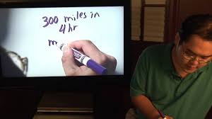 150 Meters To Miles by Math Lessons How To Calculate Miles Per Hour Youtube