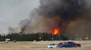 Largest Wildfire In Alberta History by Canada Declines Russia U0027s Offer Of Water Bombers To Help Fight