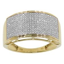 men gold ring 10k yellow or white gold men s 3 5ct tdw diamond ring free
