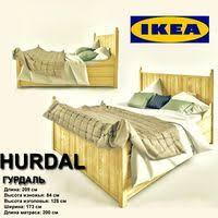 Ikea Hurdal Bed Hurdal 3d Models