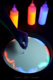 glowing magic milk experiment learn play imagine