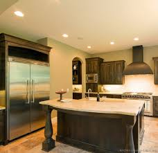 kitchen island posts dark wood kitchen islands with cooktops island regarding posts