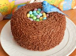 easter bird u0027s nest carrot cake a 3 layer cake with the top