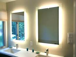 Mirror Wall Bathroom Lighting Mirror Lights Bathroom Mirrors Lighting